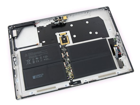 If we learned anything from the last Surface Pro we tore down, it's that the battery is a pain to remove, and it doesn't go back in quite the same.