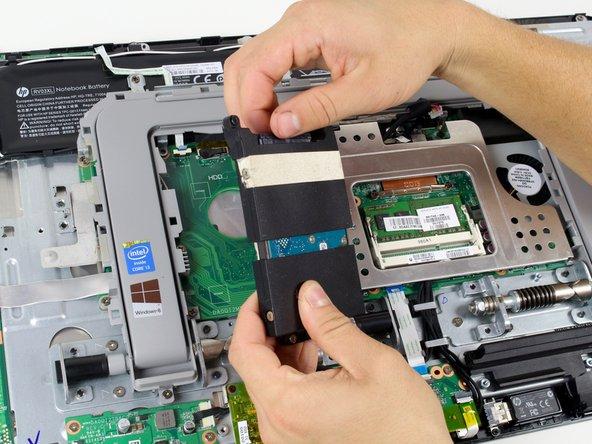 HP ENVY Rove 20-k014us Hard Drive Removal