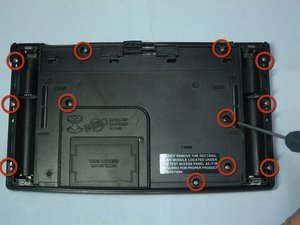 Texas Instruments TI-92 Back Case Disassembly
