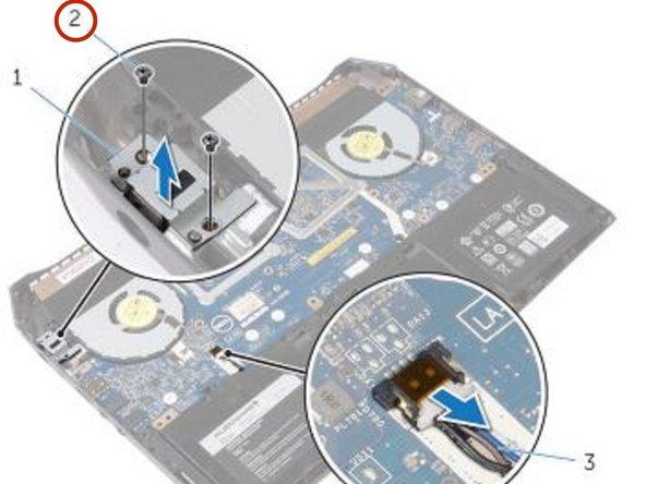 Dell Alienware 13 - Reemplazo del puerto adaptador de corriente
