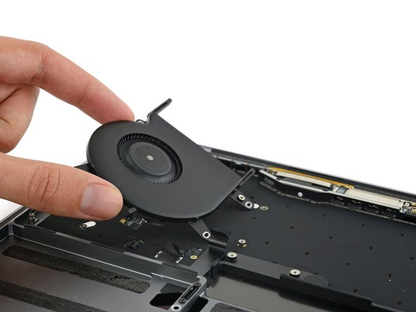 Before we hit Retina, we scrape out a fancy fan. These blades are supposedly super quiet due to their asymmetrically spaced blades.