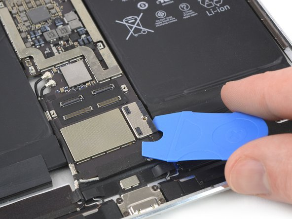 For the following steps, you'll need to relocate the Battery Blocker you inserted earlier.
