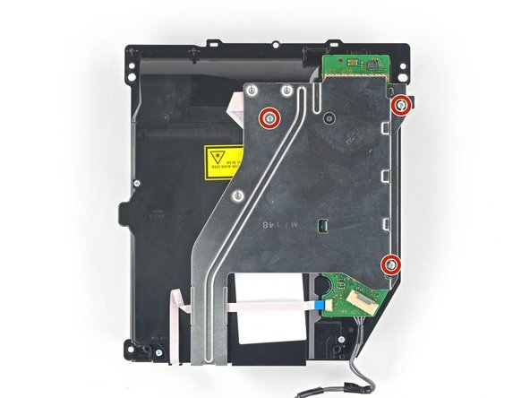 If you purchased an optical drive with the PCB board and bracket included, skip the remaining steps and begin reassembly.