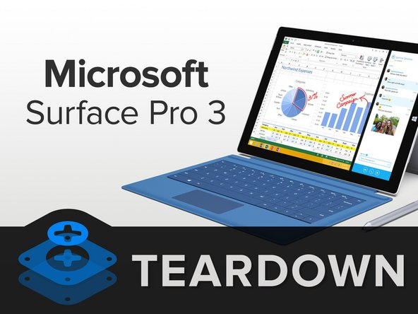 The Surface Pro 3's beauty isn't just skin deep—which is just as well, because we're not stopping until we hit bone. Innards include: