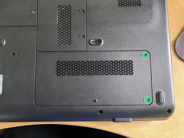 Compaq Presario CQ60 Hard Drive Replacement