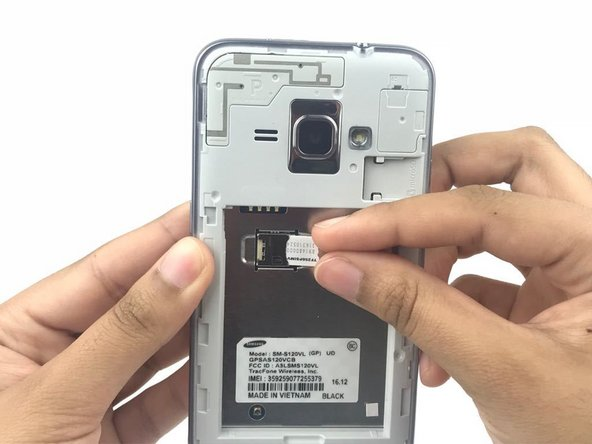 Samsung Galaxy Luna SIM Card Replacement
