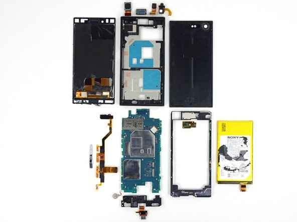 The Sony Xperia X Compact earns a 6 out of 10 on our repairability scale (10 is the easiest to repair):