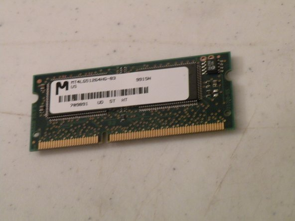 iMac G3 Model M4984 Video Ram Replacement