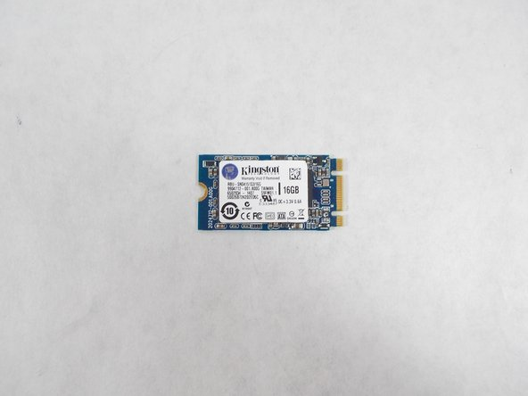 Acer Chromebook C720-2827 Solid State Drive Replacement