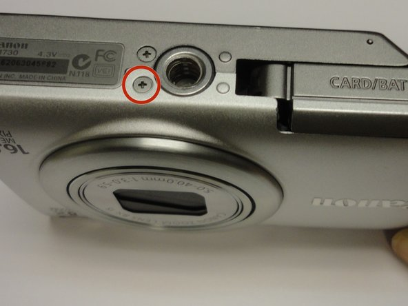 Canon PowerShot A4000 IS Front Cover Replacement