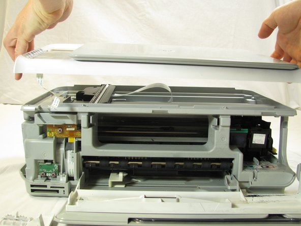 Disassembling HP Photosmart c3180 Top Panel