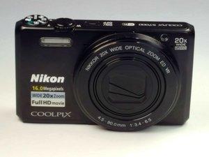 Nikon Coolpix S7000 Repair