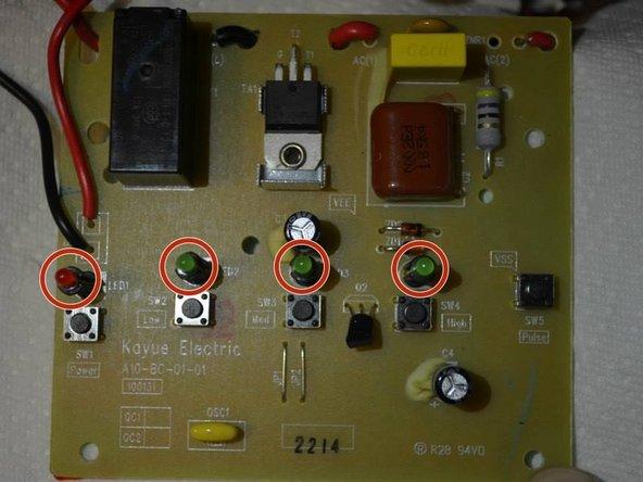 Ninja NJ600 LED Light Replacement