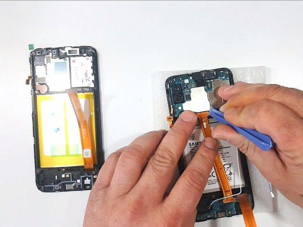 Remove the Sup-board Flex Cable
