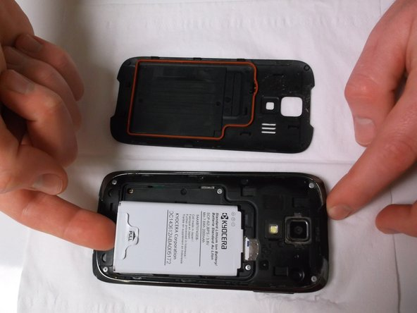 Then remove the battery.