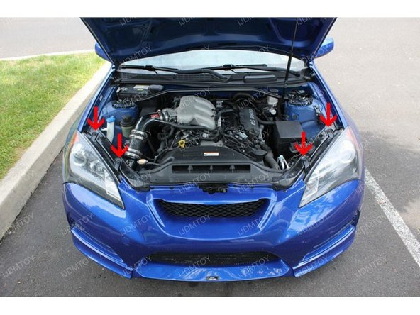 Open the hood.
