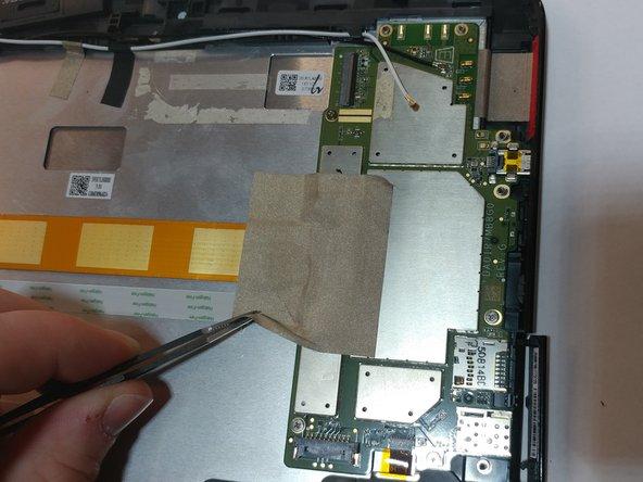 Verizon Ellipsis 10 Motherboard Replacement