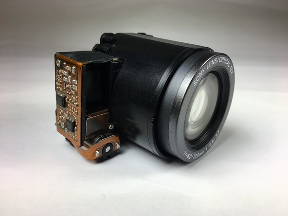 Sony Cyber-Shot DSC-H1 Lens Replacement