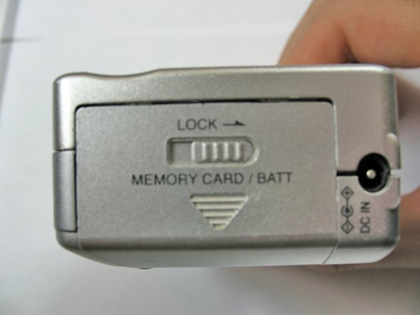 Panasonic Lumix DMC-F7 Battery Replacement
