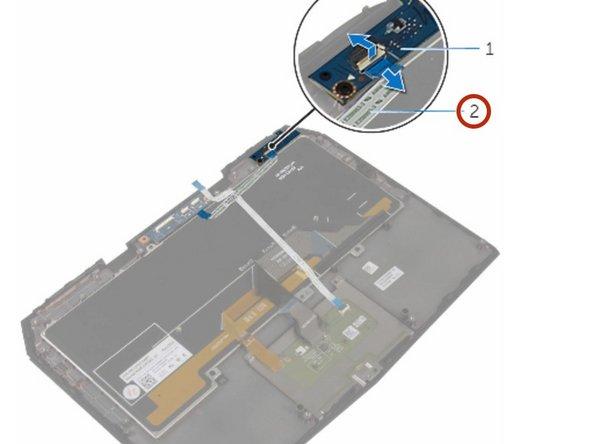 Dell Alienware 13 R2 Status-Light Board Replacement