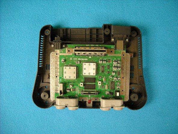 Nintendo 64 LED status light replacement