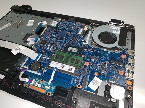 HP 17-bs049dx Fan Replacement