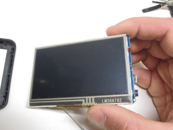 A closer look at the LCD and Board.