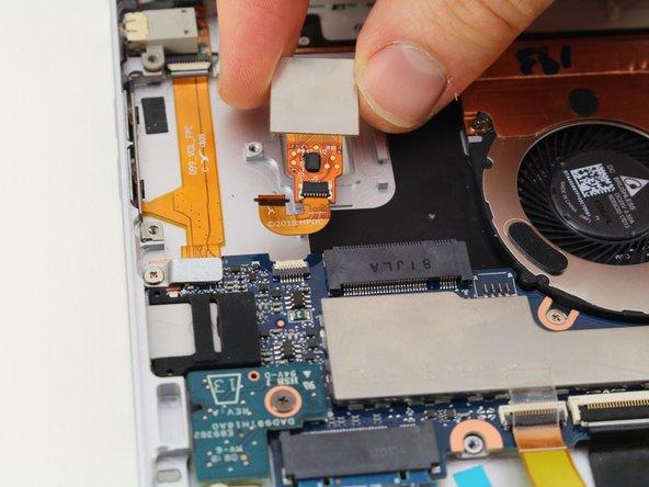 HP Elite X2 1013 G3 Fingerprint Scanner Replacement
