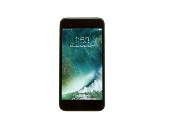 怎样强制重启iPhone 7