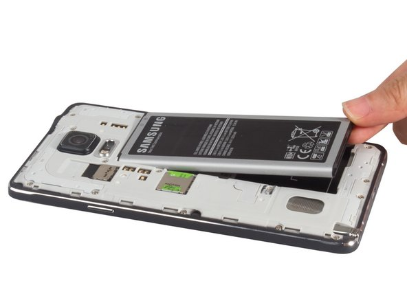 Remove battery, SIM card.