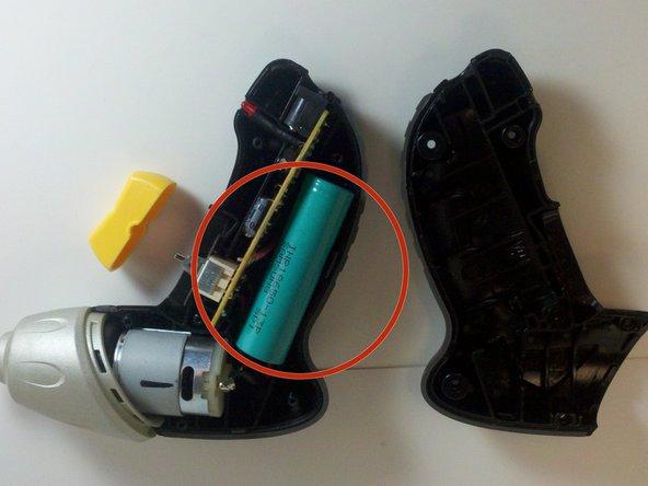 Locate battery