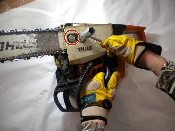 Stihl O25 Chain Replacement
