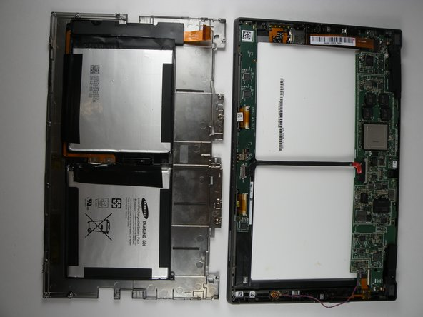 Microsoft Surface Rear Cover Replacement