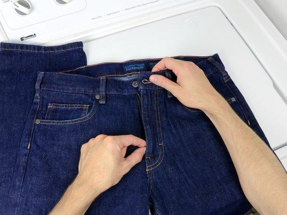 Entfalte deine Jeans.