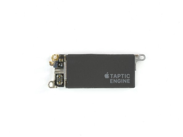 Here we have the component responsible for shaking things up—the Taptic Engine, also known as an electromagnetic oscillating linear actuator.