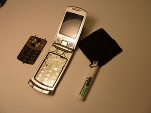 How to clean Samsung SGH-T639 keypad