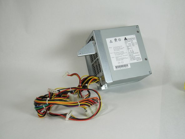 Your power supply is now free from the enclosure and is ready to be replaced.