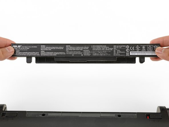 Asus X550CA Battery Replacement