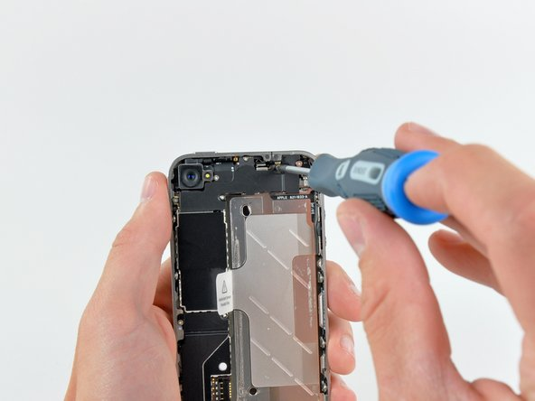 No EMI shield will stand between us and the innards of this iPhone 4!