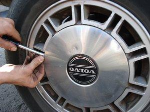 1985-1988 Volvo 740 Tire Rotation
