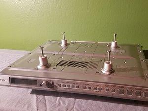 Sony ICF-CD553RM Under Cabinet Kitchen CD Clock Radio