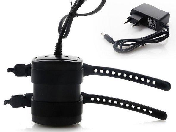 Akku 8,4 Volt. 13200mAh 8,4V Akku Batterie-Pack Ladegeraet  für Fahrradlampe-XML-T6