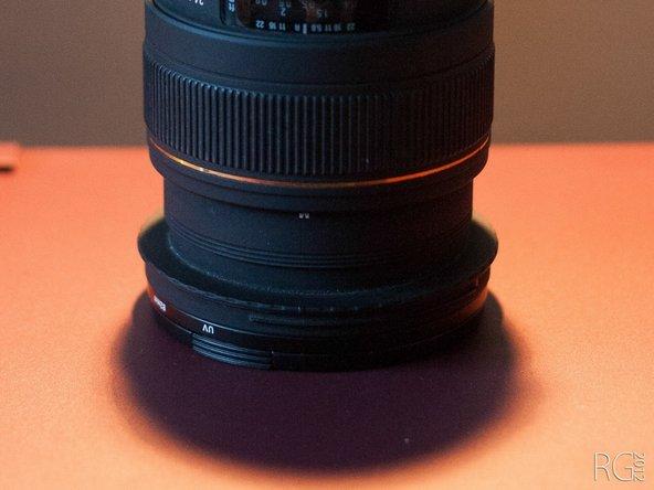 Disassembling Sigma 24-70mm F2.8 EX DG Macro Lens Zoom bearing