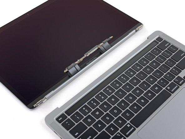 """Reemplazo del ensamblaje de la pantalla de MacBook Pro 13"""" 2 Puertos Thunderbolt de finales  2020"""
