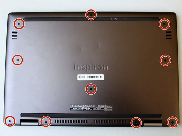 Dell Inspiron 15 7579 Back Panel Replacement
