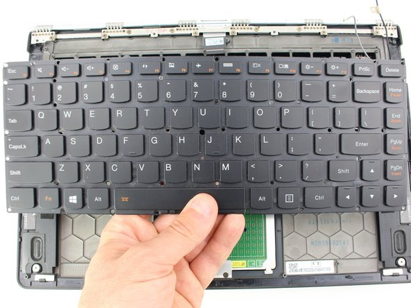 Lenovo Yoga 900-13ISK Keyboard Replacement
