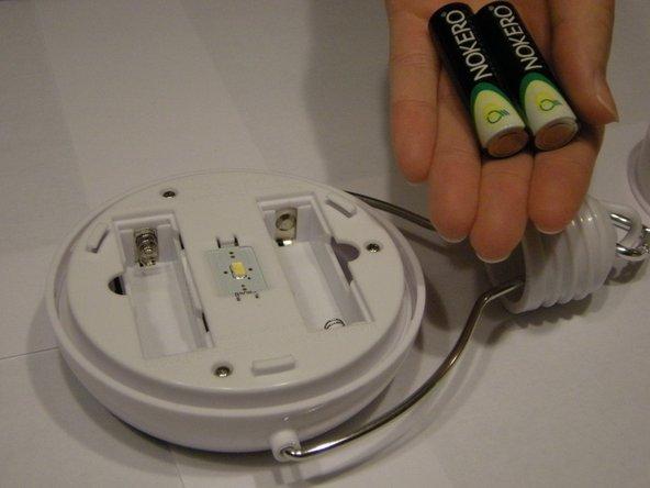 Nokero Shavano N220 Batteries Replacement