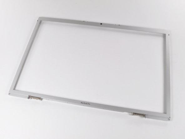 "MacBook Pro 17"" Models A1151 A1212 A1229 and A1261 Front Display Bezel Replacement"