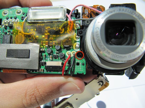Kodak EasyShare LS743 Lens Replacement