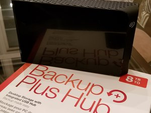 Seagate Backup Plus Hub Repair